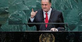 El canciller criticó al mandatario de Turquía,Recep Tayyip Erdogan, quien alertó a los Estadosde las violaciones cometidas por Israel en contra de los palestinos.