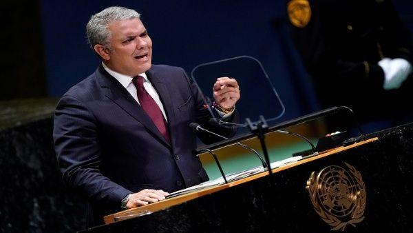 Resultado de imagen para duque en la ONU