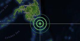 Los filipinos sintieron este domingo un sismo de magnitud 6.2.