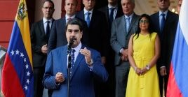 """""""Quiero buscar resultados para que los trabajadores del país tengan un mejor nivel de vida"""", sostuvo el presidente venezolano."""