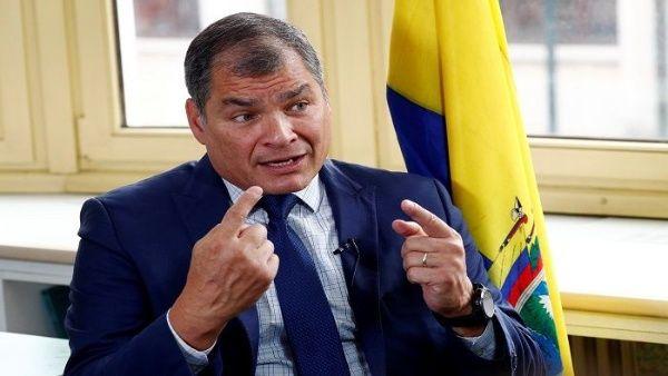 Correa rechaza acusaciones de Moreno: los golpistas son ellos