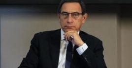 Martín Vizcarra anunció la disolución del Congreso peruano el 30 de septiembre pasado.