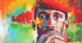"""Considerado el """"Che africano"""", rechazó de manera abrupta y definitiva toda suerte de imposiciones externas y buscó métodos propios para el bienestar de su pueblo."""