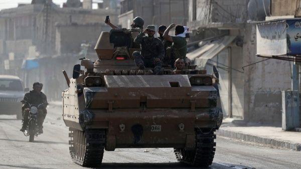 Ejército de Siria toma el control total del distrito de Manjib
