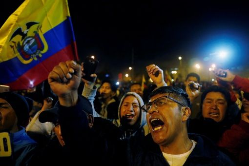Venezuela supports the people of Ecuador against IMF