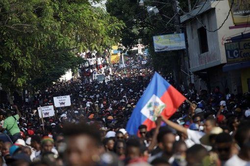 Resultado de imagen para haití protestas