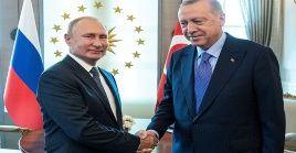 Rusia repudia la presencia de tropas turcas en territorio sirio.