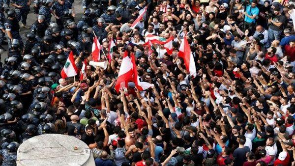 Resultado de imagen para violencia social en las calles de libano