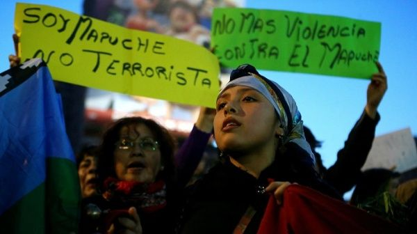 Resultado de imagen para mapuches chile protesta octubre 2019
