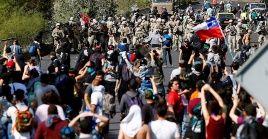 El toque de queda está instaurado en siete regiones del país: Antofagasta, Metropolitana, Coquimbo, Valparaíso, O