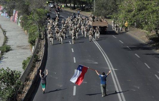 Chile, estos días