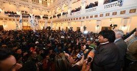 Evo Morales estará al frente del Gobierno de Bolivia hasta el año 2025.