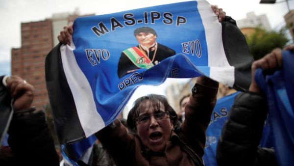 Cronología del proceso de cambio en Bolivia