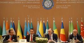 La ciudad de Bakú, capital de Azerbaiyán, albergará la XVIII Cumbre del Mnoal el 25 y 26 de octubre.
