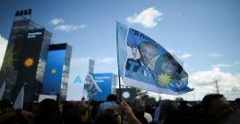El candidato Alberto Fernández (Frente de Todos) estará el jueves en Mar del Plata (provincia de Buenos Aires), acompañado de la expresidenta y compañera de fórmula, Cristina Fernández (2007-2015).