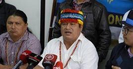 La Conaie aseguró que presentará acciones legales contra el Estado ecuatoriano ante instancias nacionales e internacionales por presunta violación de DD.HH.