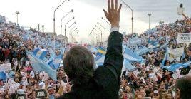 Nestor Kirchner falleció hace nueve años en su casa de Río Gallegos al sufrir un infarto