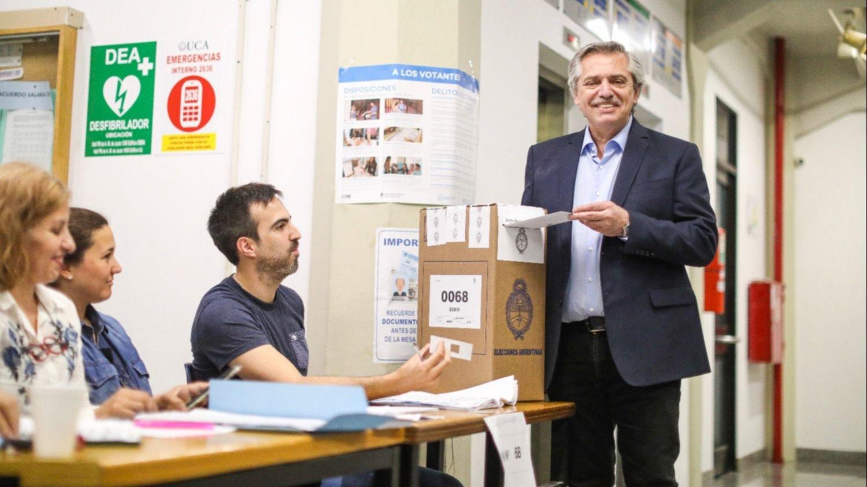 Alberto Fernández vota: Es una jornada histórica para Argentina | Noticias  | teleSUR
