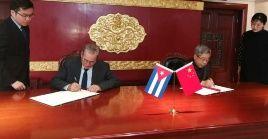 Cuba fue el primer país del continente latinoamericano y caribeño en establecer nexos con la República Popular de China.