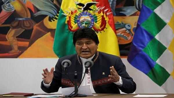 Evo Morales ha condenado las manifestaciones violentas de la oposición.