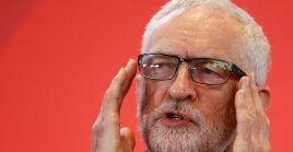 El líder del Partido Laborista, Jeremy Corbyn, destacó la necesidad de transformar el país.