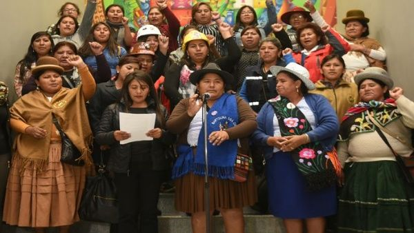 Alianza De Mujeres Llama A Marchar Contra El Odio En Bolivia