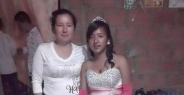Diana Medina Garzón estaba de vacaciones en una vereda cercana a su casa, en la finca de su hermana, cuando la secuestraron.