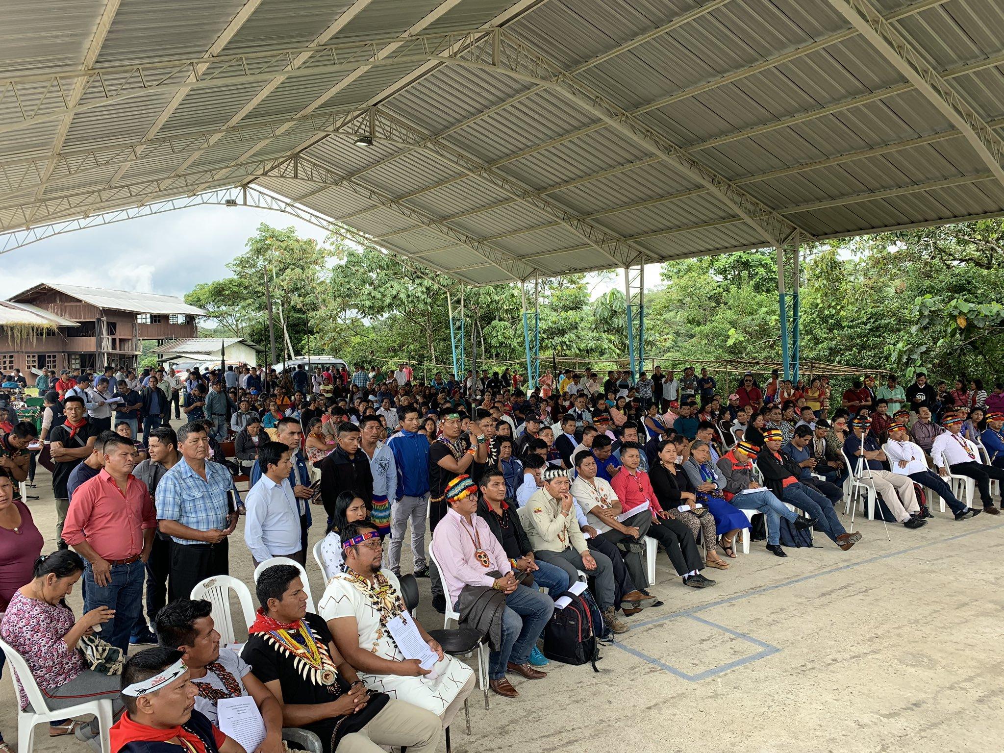 El movimiento indígena rechaza lo que consideran intentos de división por parte del Gobierno de Lenín Moreno.