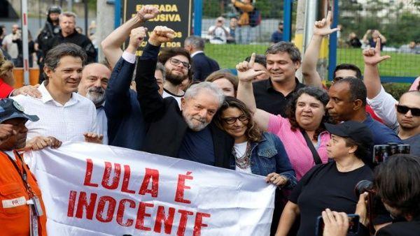 Lula libre tras decisión del Tribunal Supremo de Brasil (+Video)