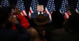 Trump indicó que no firmará un acuerdo comercial con su homólogo chino.