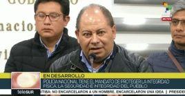 El ministro de Gobierno boliviano dijo confiar en resolver mediante el diálogo las demandas de los policías.