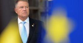 El presidente de Rumanía, Klaus Iohannis, es señalado por las encuestas como el favorito para ganar este domingo.