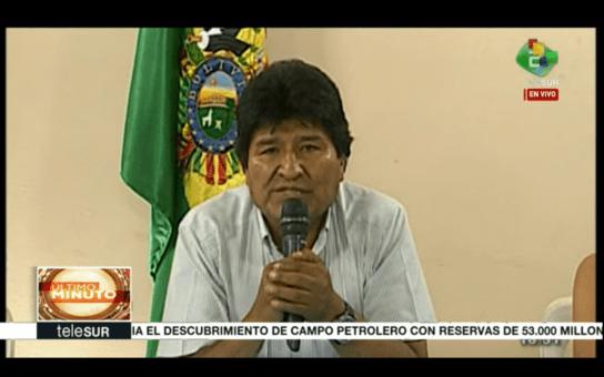 Forzado Evo Morales a renunciar a la Presidencia de Bolivia