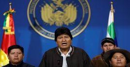 Evo Morales dimitió al cargo de presidente para preservar la paz en Bolivia.