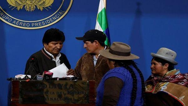Rusia denuncia que la crisis en Bolivia sigue las pautas de un golpe de Estado