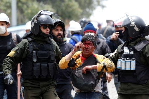 Denuncia Evo Morales que la Policía exige retribución por el golpe de Estado
