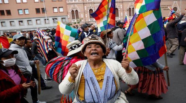 Resultado de imagen para protestas en bolivia