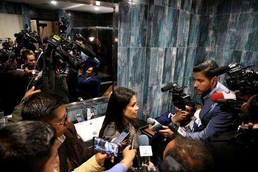 """""""Para aquellos periodistas que están haciendo sedición vamos a actuar según la ley"""", afirmó la ministra de Comunicación del autoproclamado Gobierno interino."""