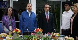 """Daniel Ortega consideró que Moralesfue víctima de """"una trampa bien montada"""" ."""