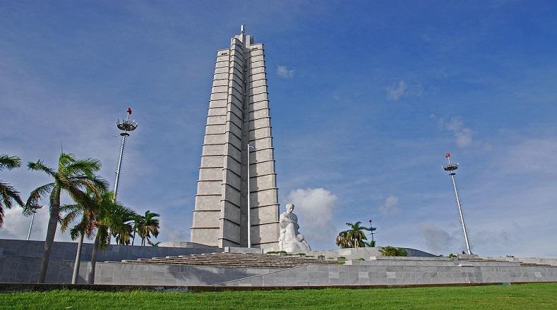 La Plaza de la Revolución, llamada Plaza Cívica hasta 1961, ha sido el escenario de muchos acontecimientos importantes de la Revolución Cubana: marchas, desfiles, ceremonias de despedida de duelo, etc. En su explanada se encuentra el Memorial José Martí, punto más elevado de la ciudad.
