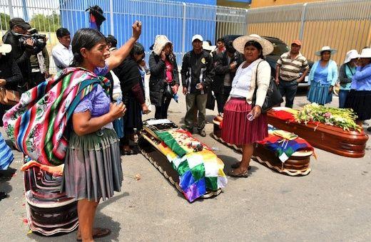Resultado de imagen para matanza en bolivia