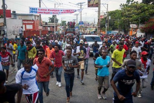 La oposición vuelve a tomar las calles de Haití.