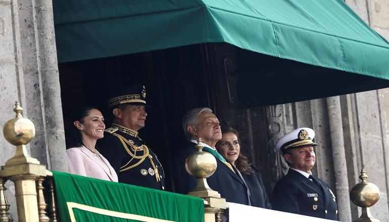 Por su parte, el presidente mexicano Andrés Manuel López Obrador  participó en el acto y enfatizó su interés por revivir los valores cívicos y patrióticos en la nación.