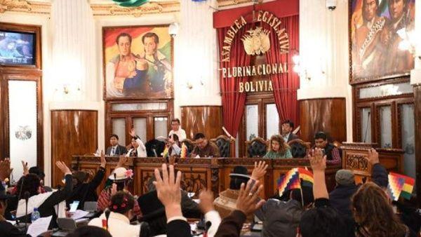 Resultado de imagen para Senado de Bolivia aprueba Ley para convocar nuevas elecciones