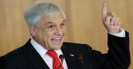El presidente chileno busca mayor colaboración de las Fuerzas Armadas con los carabineros.