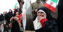 El general Hossein Salami acusó a EE.UU., y a sus aliados de avivar los disturbios en Irán.