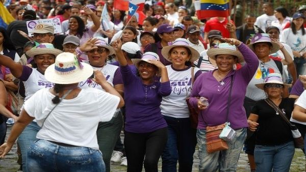 Resultado de imagen para haiti Marcha de mujeres