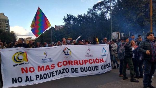 El paro sigue: Colombia vive quinto día de protestas contra Iván ...