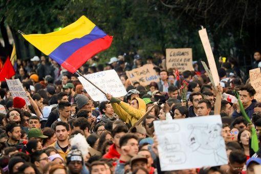 Organizaciones que integran el Comité Nacional de Paro exhortan a Iván Duque el desmonte del Esmad por la represión con la que ha actuado en las protestas del país.