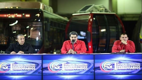 Denuncia Maduro plan desestabilizador en frontera con Colombia